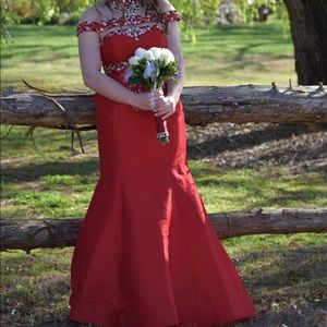 Dresses & Skirts - RED MERMAID PROM/ PAGEANT DRESS